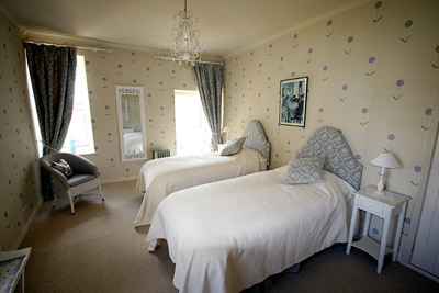 The Blue Room twin bedded accommodation