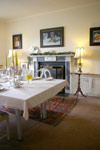 The exclusive breakfast room at the calico House Suite